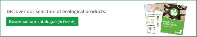Catalogue Produits écologiques