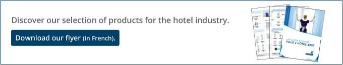 Dépliant hôtellerie